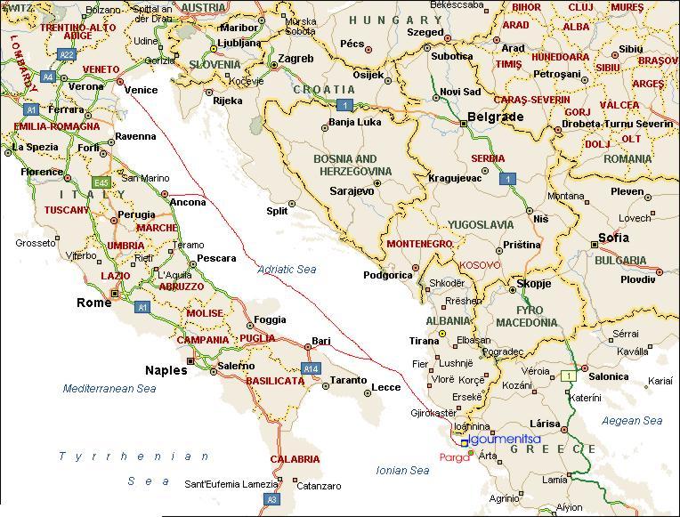How To Reach In Parga Villa Maria Parga Greece